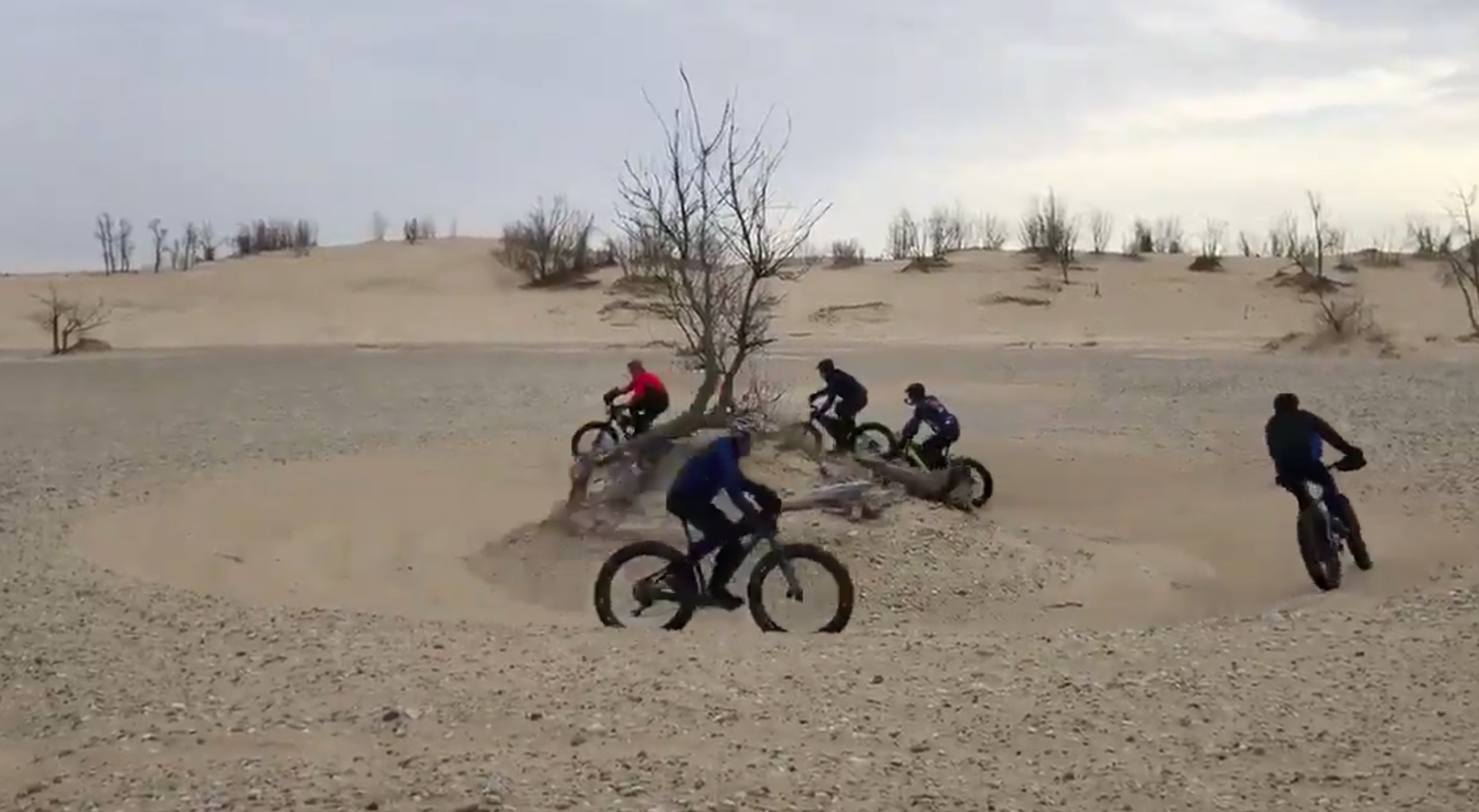 Silver Lake Sand Dunes ride - Saturday morning